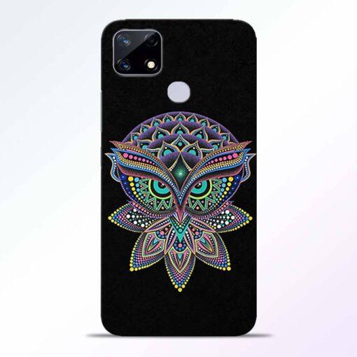Mandala Owl Realme Narzo 20 Back Cover