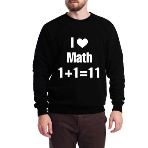 Math Lover Sweatshirt for Men