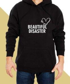 Beautiful Disaster Hoodies for Men