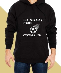 Goal Shooter  Hoodies for Men