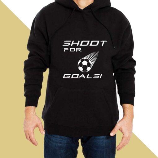 Goal Shooter  Hoodies for Men