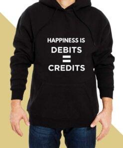 Happiness Debit Hoodies for Men