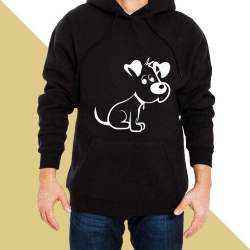Cute Puppy Hoodies for Men