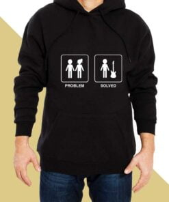 Problem Solved Hoodies for Men