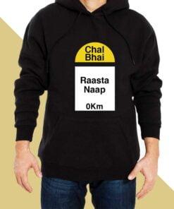 Raasta Naap Hoodies for Men