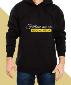 Follow Me Hoodies for Men