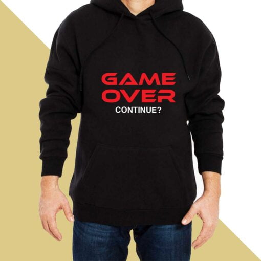 Game Over Hoodies for Men