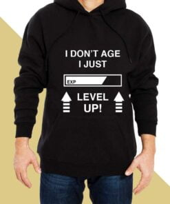 Level Up Hoodies for Men