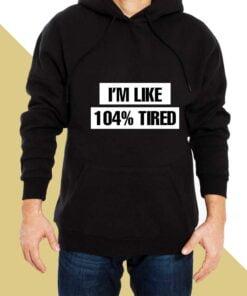 Full Tired Hoodies for Men