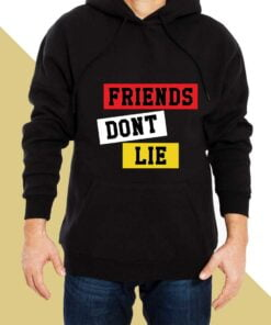 Friends Dont Lie Hoodies for Men