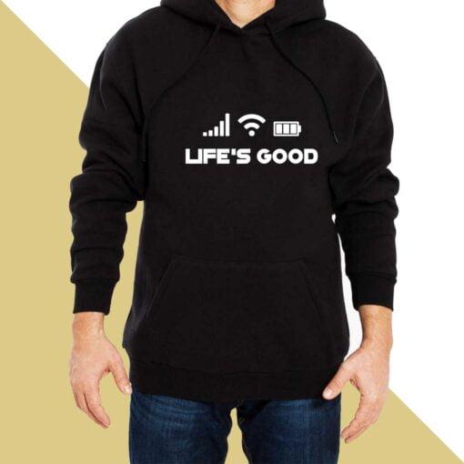 Life Good Hoodies for Men