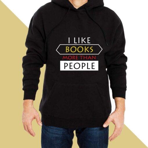 Like Books Hoodies for Men