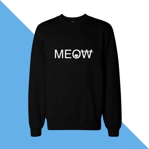 Meow Women Sweatshirt