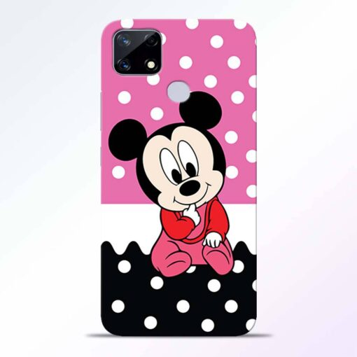 Mickey Baby Realme Narzo 20 Back Cover