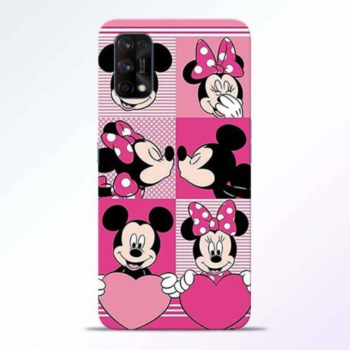 Mickey Minnie Realme 7 Pro Back Cover