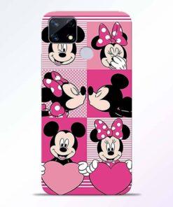 Mickey Minnie Realme Narzo 20 Back Cover