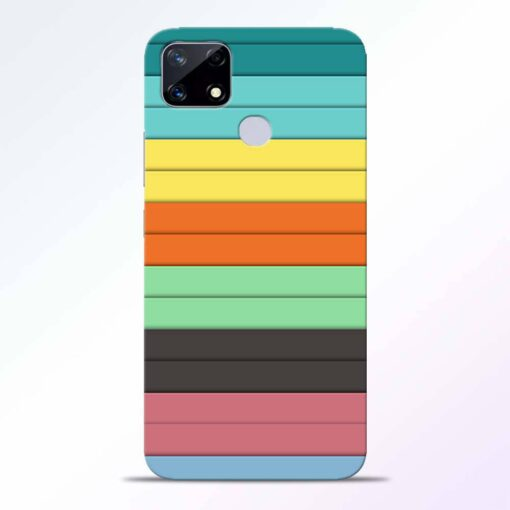 Multi Color Strap Realme Narzo 20 Back Cover