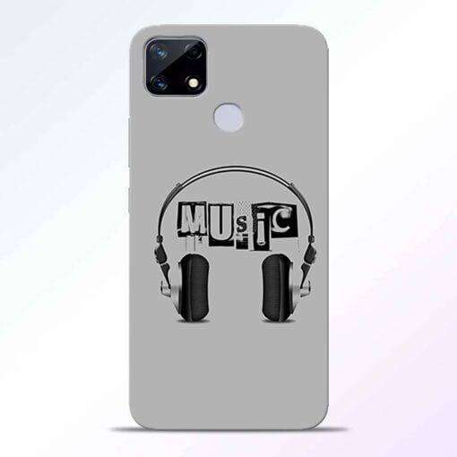 Musicaholic Realme Narzo 20 Back Cover