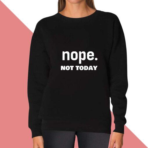 Nope Sweatshirt for women