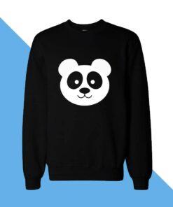 Panda Face Women Sweatshirt