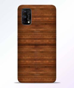 Pine Wood Realme 7 Pro Back Cover