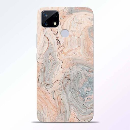 Pink Marble Realme Narzo 20 Back Cover