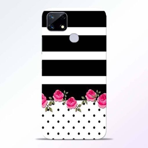 Pink Rose Realme Narzo 20 Back Cover