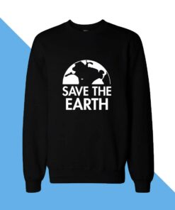 Save Earth Women Sweatshirt
