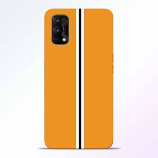 Single Stripes Realme 7 Pro Back Cover