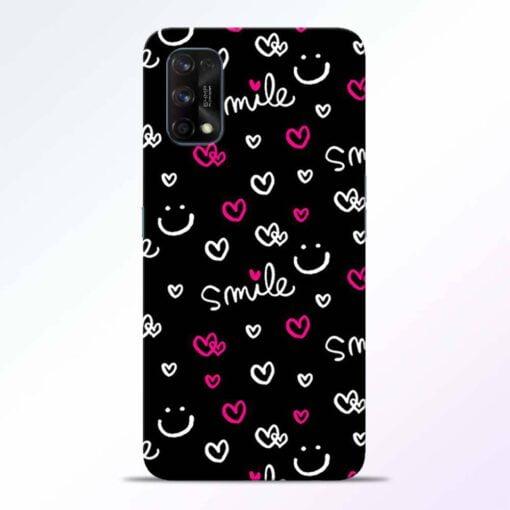 Smile Heart Realme 7 Pro Back Cover