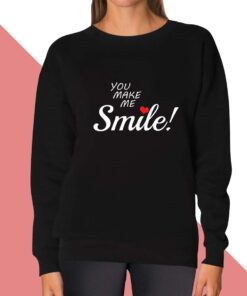 Smile Sweatshirt for women