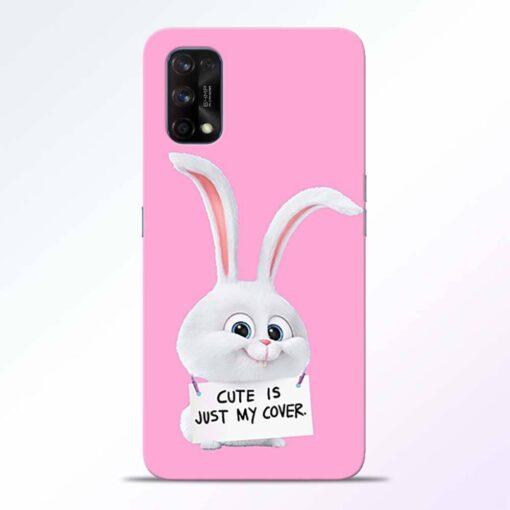 Snowball Bunny Realme 7 Pro Back Cover