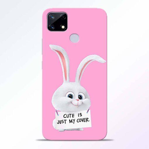 Snowball Bunny Realme Narzo 20 Back Cover