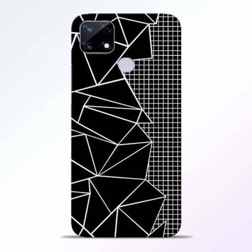 Stencil Pattern Realme Narzo 20 Back Cover