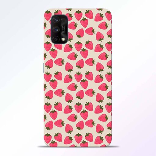 Strawberry Realme 7 Pro Back Cover