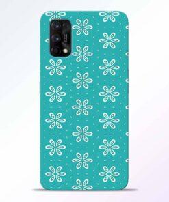 Tiffany Flower Realme 7 Pro Back Cover