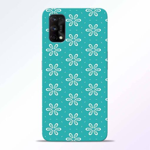 Tiffany Flower Realme 7 Pro Back Cover