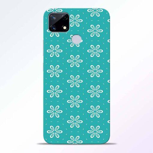 Tiffany Flower Realme Narzo 20 Back Cover