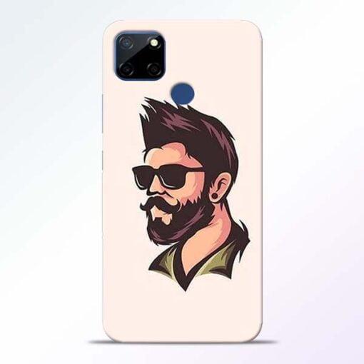 Beard Man Realme C12 Mobile Cover