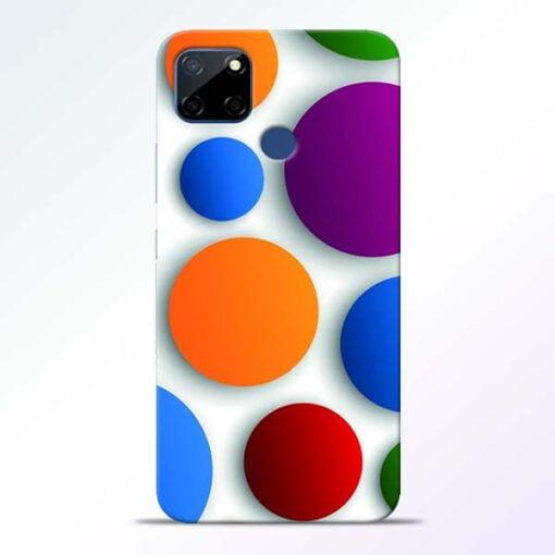 Bubble Pattern Realme C12 Mobile Cover