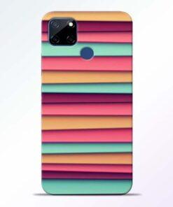 Color Stripes Realme C12 Mobile Cover