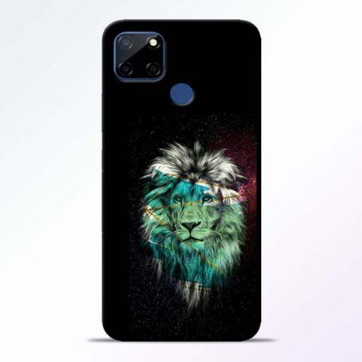 Lion Print Realme C12 Mobile Cover