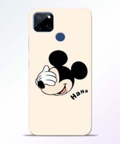 Mickey Face Realme C12 Mobile Cover