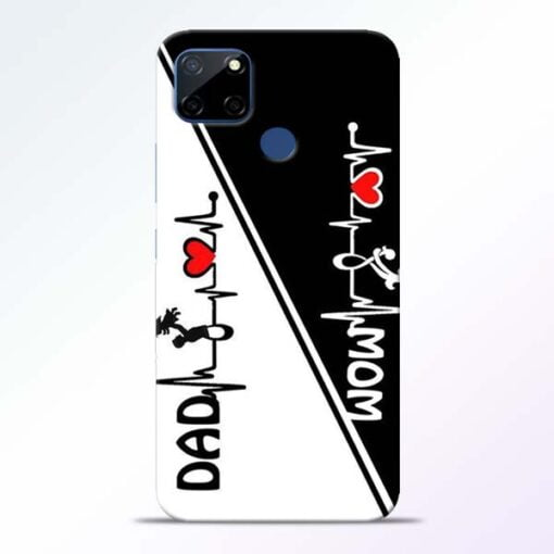 Mom Dad Realme C12 Mobile Cover