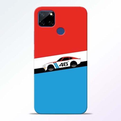 Racing Car Realme C12 Mobile Cover