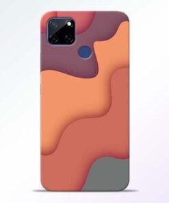 Spill Color Art Realme C12 Mobile Cover