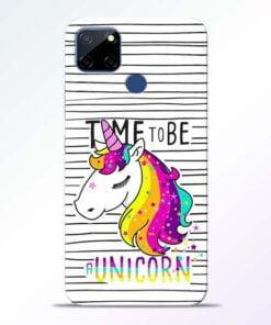 Unicorn Horse Realme C12 Mobile Cover