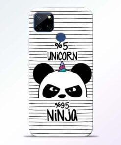Unicorn Panda Realme C12 Mobile Cover