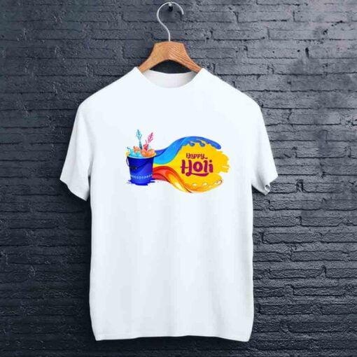 Balloon Bucket Holi T shirt - CoversGap