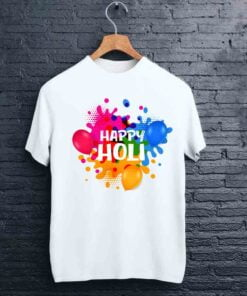 Balloon Print Holi T shirt - CoversGap